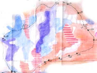 Карта-схема тропы «Леса