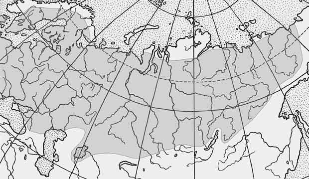 Ерш обыкновенный — Gymnocephalus cernuus: карта ареала (область распространения)