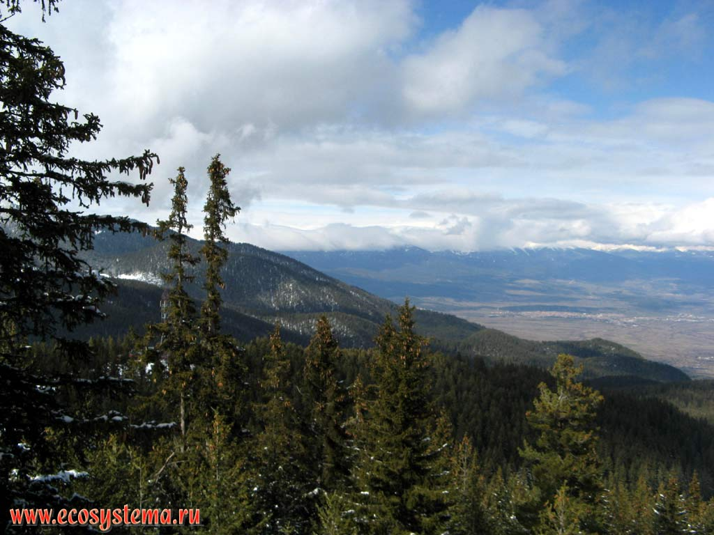 Bulgarian natural landscapes and nature objects