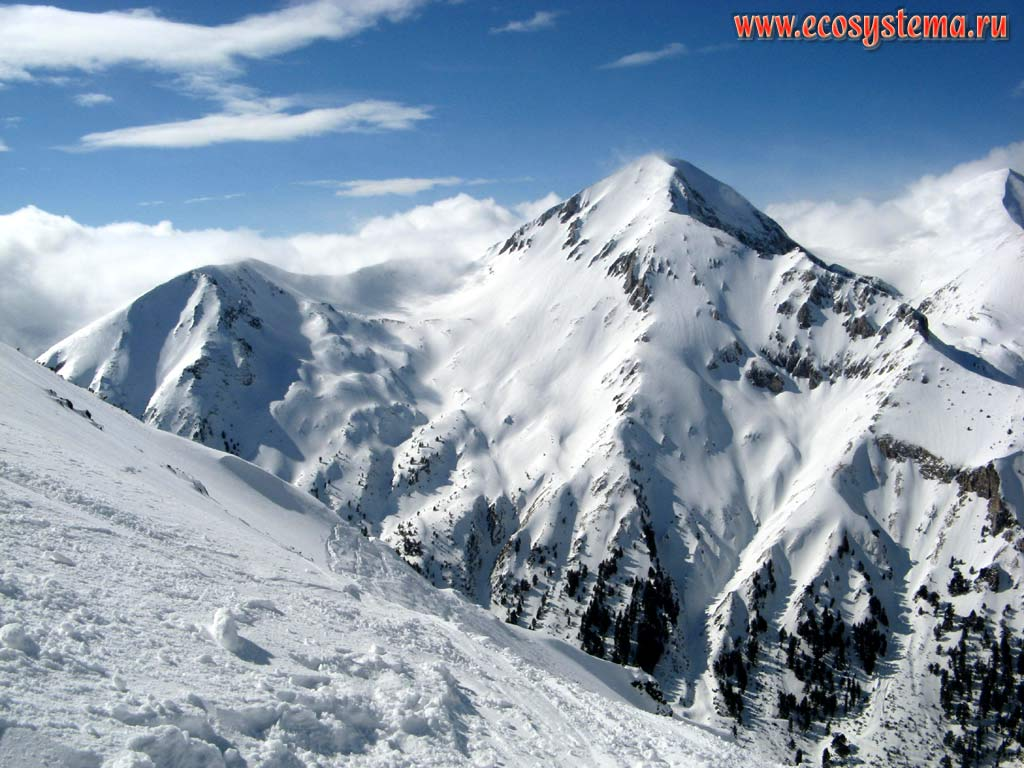 Вершины гор 22