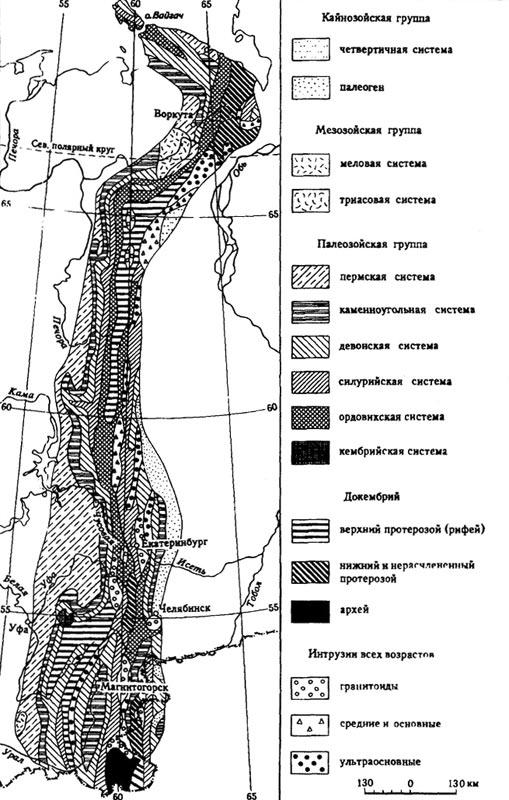 Геологическое строение Урала