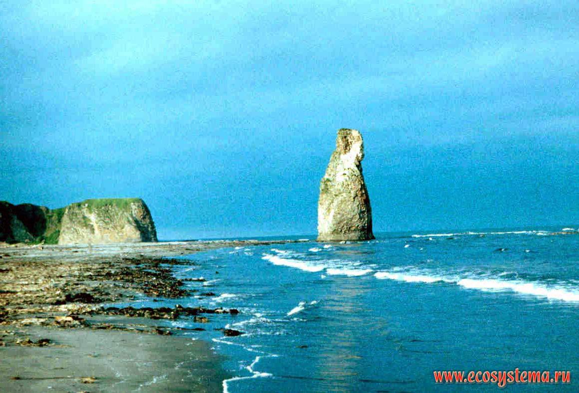 Thunderbolt&; - basalt outlier. kunashir island